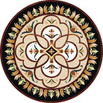 Flooring inlay:  Symphony Stone Medallion