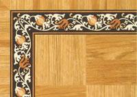 Flooring inlay: BA108 Wood Border