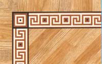 Flooring inlay: BA087 Wood Border