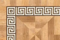 Flooring inlay: BA088 Wood Border