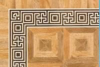 Flooring inlay: BA089 Wood Border