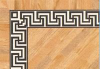 Flooring inlay: BA090 Wood Border