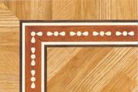 Flooring inlay: BA097 Wood Border