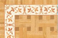 Flooring inlay: BA098 Wood Border