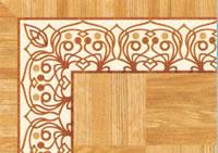 Flooring inlay: BA100 Wood Border