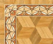 Flooring inlay: BA102 Wood Border