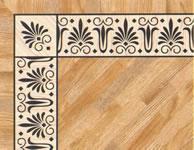 Flooring inlay: BA095 Wood Border