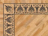 Flooring inlay: BA096 Wood Border