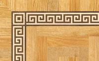Flooring inlay: BA081 Wood Border