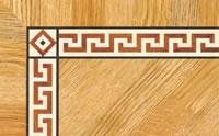 Flooring inlay: BA082 Wood Border