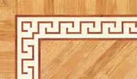 Flooring inlay: BA076 Wood Border