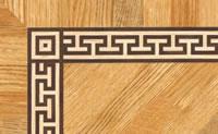 Flooring inlay: BA077 Wood Border