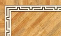 Flooring inlay: BA078 Wood Border