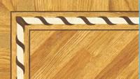 Flooring inlay: BA068 Wood Border
