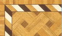 Flooring inlay: BA070 Wood Border