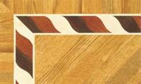 Flooring inlay: BA072 Wood Border