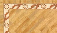 Flooring inlay: BA061 Wood Border