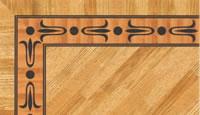 Flooring inlay: BA062 Wood Border