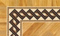 Flooring inlay: BA044 Wood Border