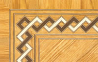 Flooring inlay: BA040 Wood Border