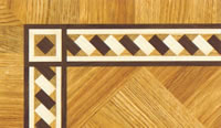 Flooring inlay: BA051 Wood Border