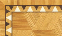 Flooring inlay: BA052 Wood Border