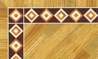 Flooring inlay: BA060 Wood Border