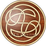 Flooring inlay:  Celtic Wood Medallion