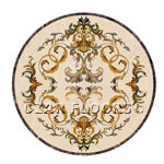 Flooring inlay: Grace Stone Medallion