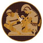 Flooring inlay: PGA5 Wood Medallion
