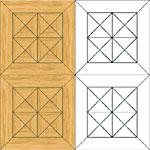 Flooring inlay: M5 Parquet