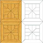 Flooring inlay: M9 Parquet