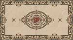 Flooring inlay:  Mona Stone Medallion