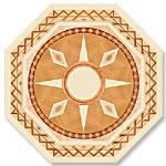 Flooring inlay: P9 Wood Medallion