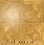 Flooring inlay:  M10