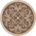 Flooring inlay:  Silva Wood Medallion