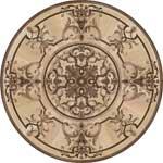 Flooring inlay:  Grenada Wood Medallion