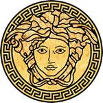 Flooring inlay: Versace Wood Medallion