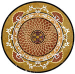 Flooring inlay: Forte Stone Medallion