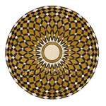 Flooring inlay:  SR17 Stone Medallion