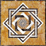 Flooring inlay:  SR2 Stone Medallion
