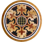 Flooring inlay:  SR80 Stone Medallion