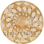 Flooring inlay:  Stargate Stone Medallion