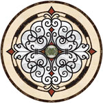 Flooring inlay:  Venice Stone Medallion