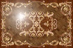 Flooring inlay:  Villa Wood Medallion