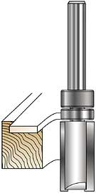 Router bit supplied by Czar Floors for wood medallion installation